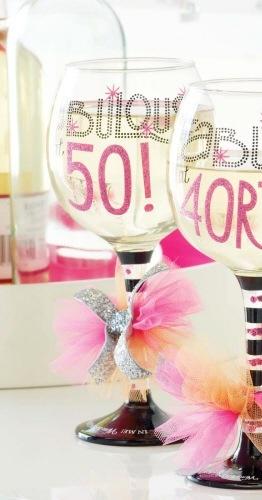 Wine Glass Fabulous At 50 Wine Glass