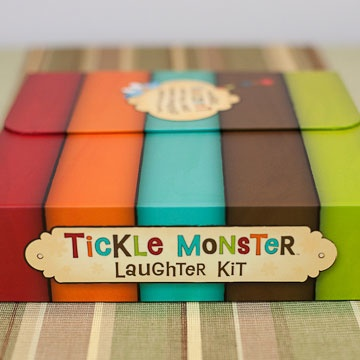 Book Tickle Monster Laughter Kit