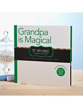 Book Grandpa Is Magical Book