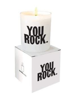 candle You Rock  - Quotable Candle
