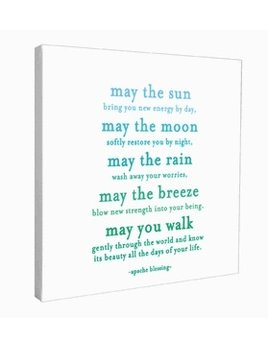 Sign May the Sun - Quotable Canvas