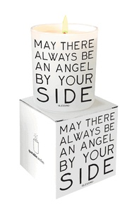 candle May There Always Be an Angel By Your SIde - Quotable Candle