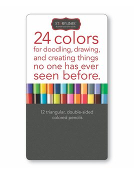 Story Lines Colored Pencils