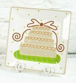 Platter Wedding Cake Platter