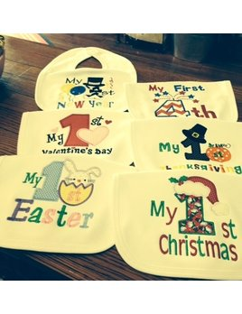 Bib My First Holiday Bibs