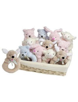 Toy Furry Friends Ring Rattle
