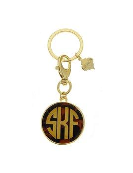 Key Chain Monogrammed Enamel Fornash Keychain