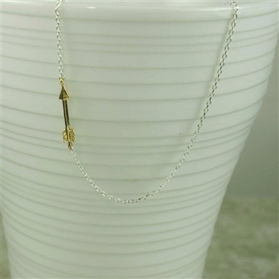 Necklace Arrow Necklace by Cool and Interesting