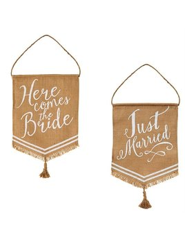 Wedding Banner Flags