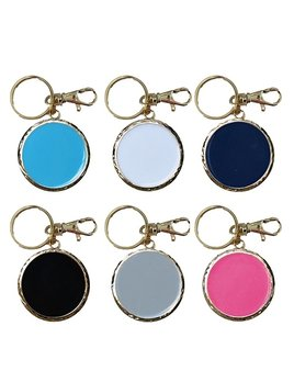 Personalized Enamel Disc Keychain