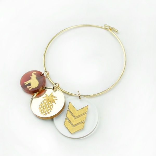 Charm Eden Pineapple Charm by Moon and Lola