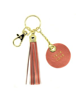 Life's A Party Tassel Keychains by Lucky Feather