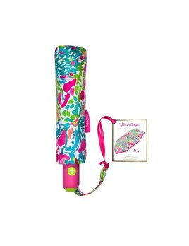 Umbrella Lilly Pulitzer Travel Umbrella