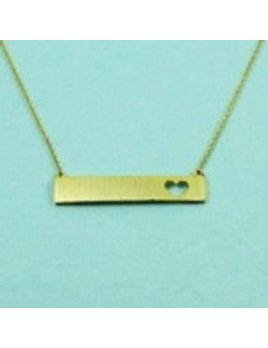 Necklace Bar Cutout Necklaces by Cool and Interesting