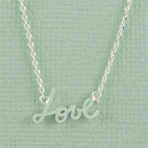 Necklace Love Necklace by Cool and Interesting