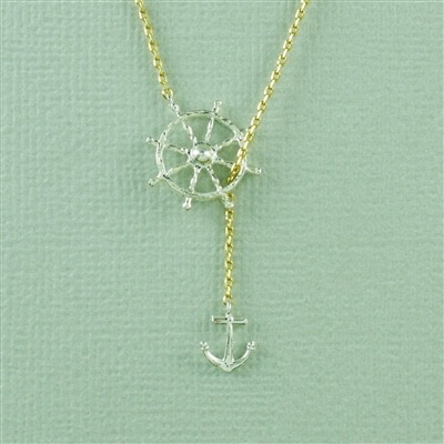 Necklace Nautical Necklace by Cool and Interesting