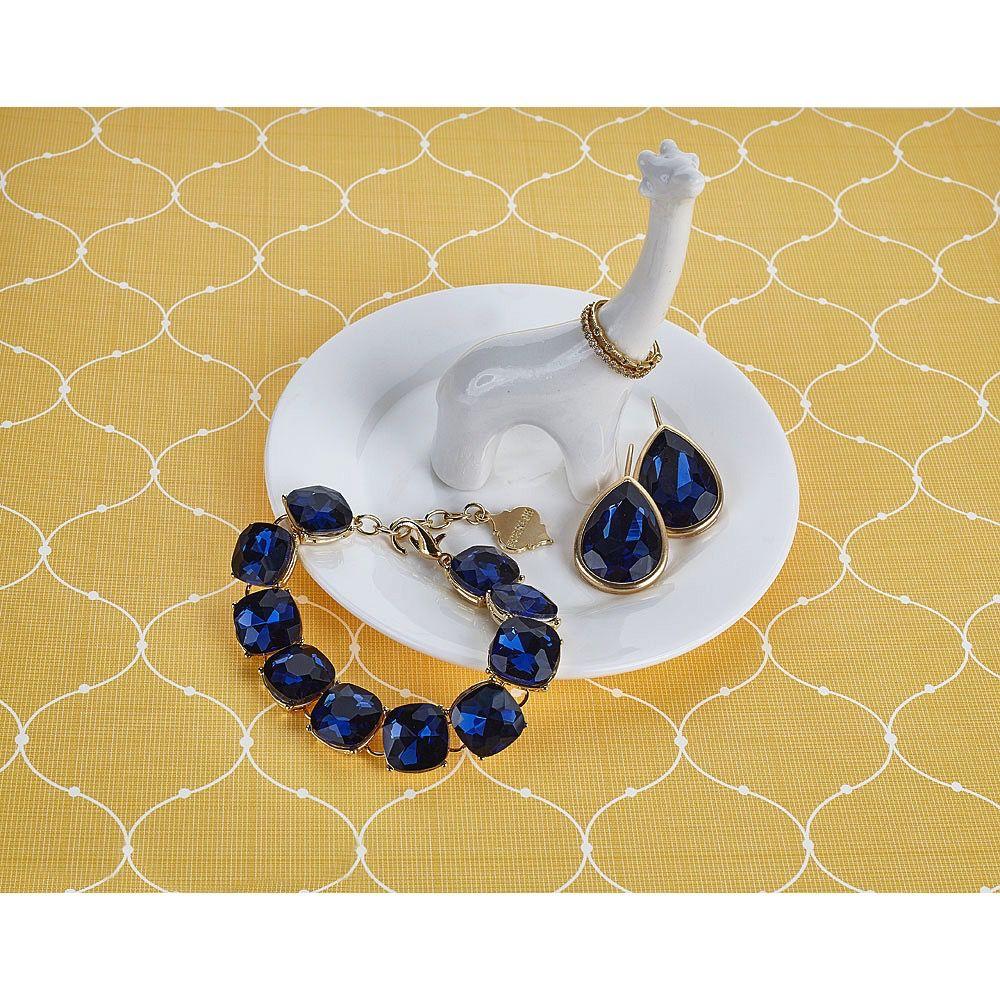 Monogrammed Safari Jewelry Dish