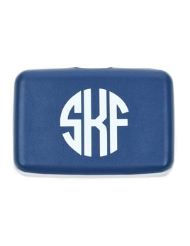 Card Case Monogrammed Vienna Card Case