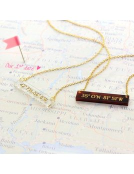 Necklace Personalized Meridian Necklace