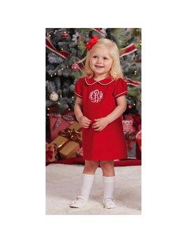 Dress Red Corduroy Dress