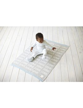Blanket Love Jacquard Knit Blanket by Elegant Baby