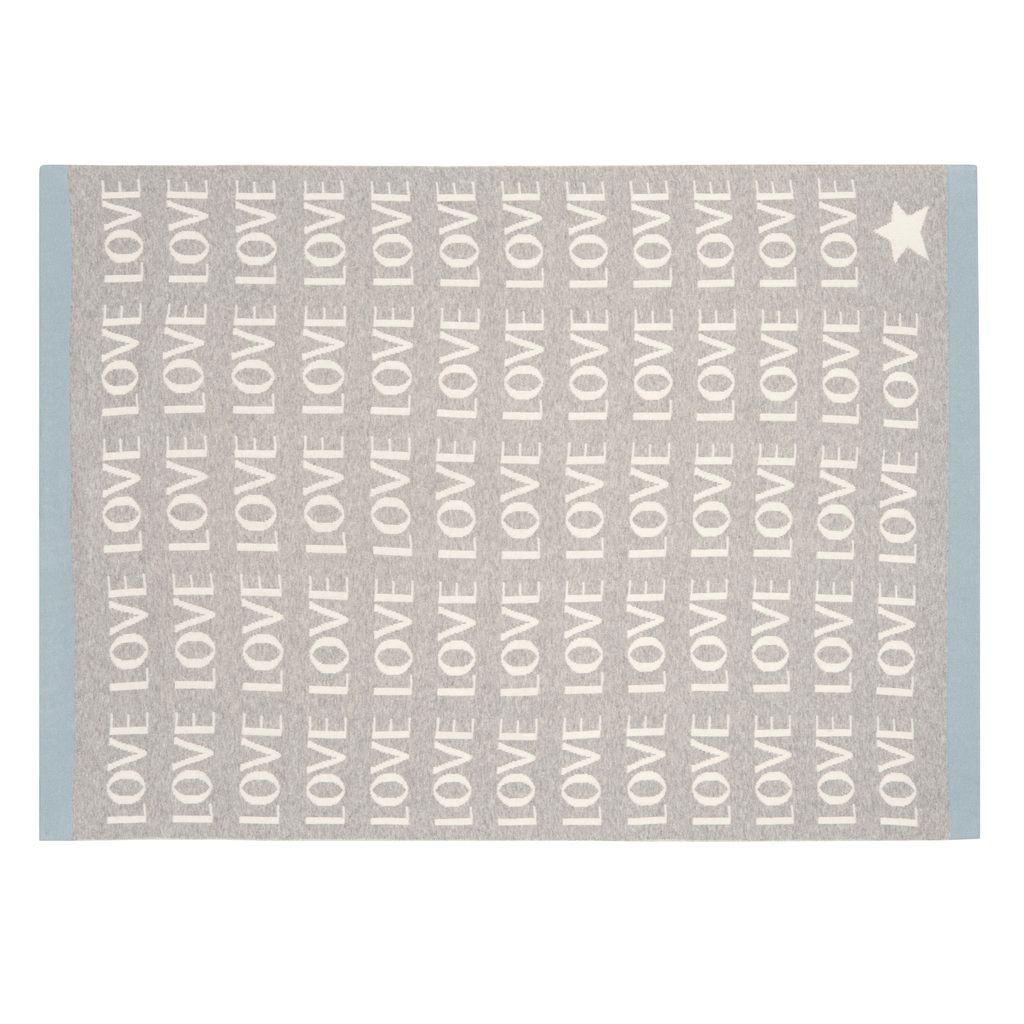 Blanket Love Jacquard Knit Blanket by Elegant Baby