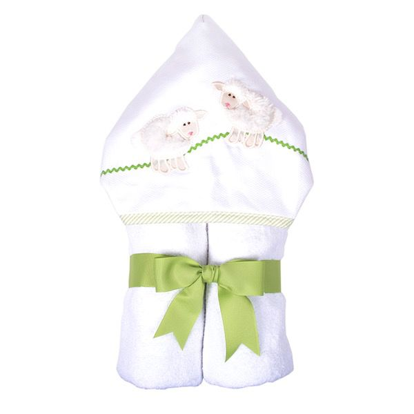 Towel White Lamb Everykid Towel