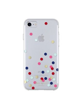 Kate Spade New York Protective Hardshell iPhone 7 Phone Case - Multi Confetti Dot