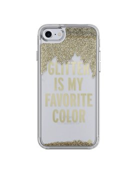 Kate Spade New York Liquid Glitter Case for iPhone 7 - Glitter is My Favorite Color