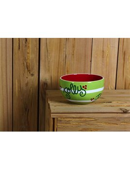 Bowl Festoon Small Bowl by Coton Colors - Citron