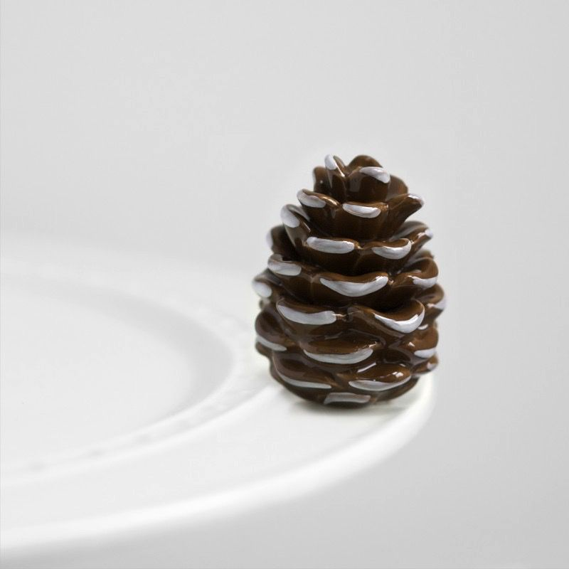 Minis Attachment Nora Fleming Minis - Pinecone