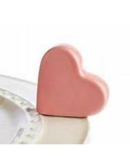 Minis Attachment Nora Fleming Minis - Pink Heart