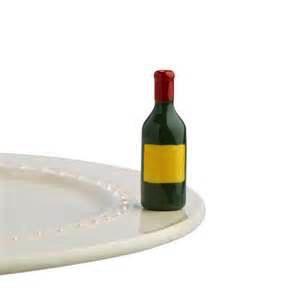 Minis Attachment Nora Fleming Minis - Wine Bottle
