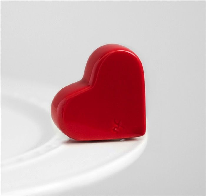 Minis Attachment Nora Fleming Minis - Red Heart