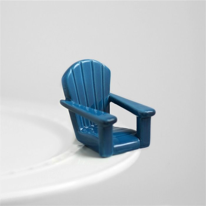 Minis Attachment Nora Fleming Minis - Blue Chair