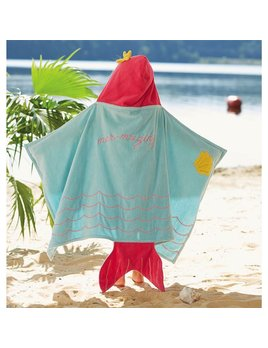 Towel Mermaid Hooded Towel