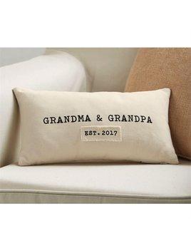 Pillow Grandparents Established Pillow