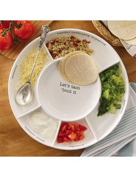 Platter Taco Bar Set