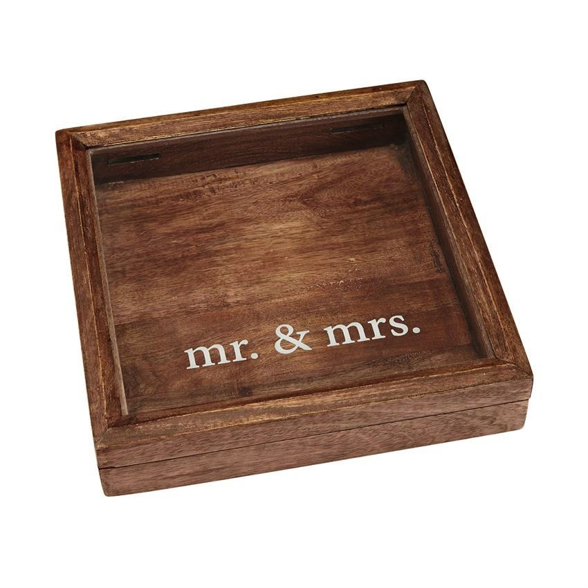 Frame Mr. & Mrs. Keepsake Shadow Box