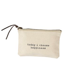 Bag Pazitive Canvas Bags - Today I Choose Happiness