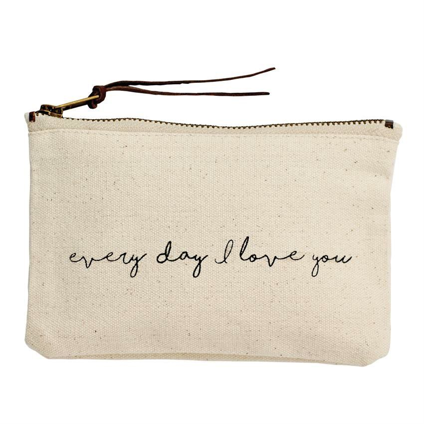 Bag Pazitive Canvas Bags -  Everyday I Love You