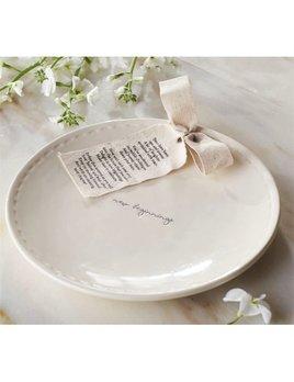 Platter Pazitive Ceramic Plate