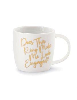 Mug Wedding 12oz Gold Mug - Make Me Look