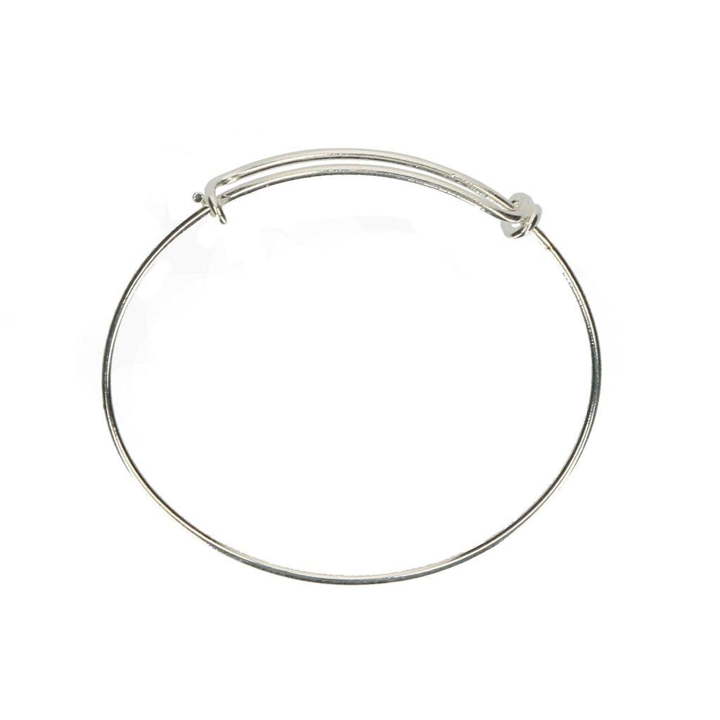 Bracelet Silver Plated Charm Bracelet