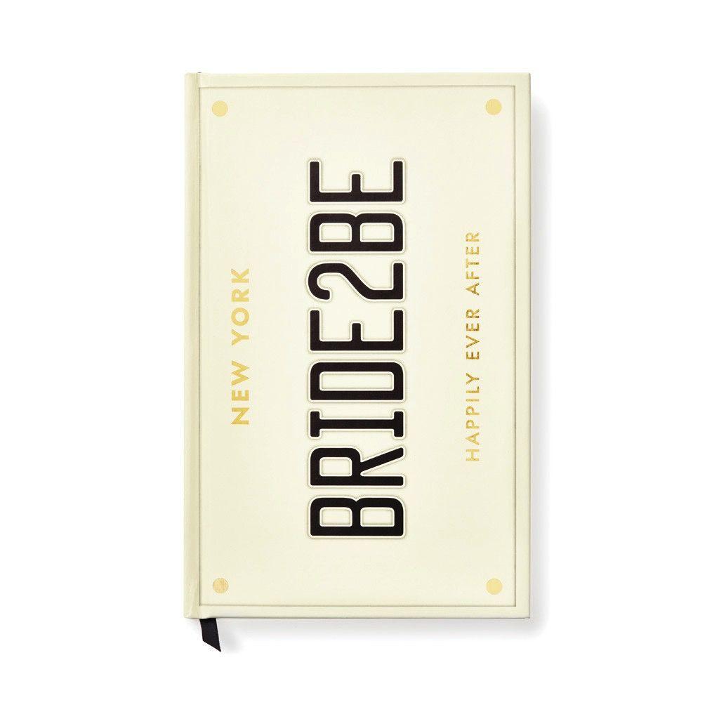 Bridal Notebook Bride 2 Be by Kate Spade
