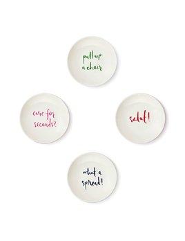 Kate Spade Melamine Tidbit Plates Set - Salut