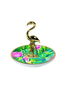 Ring Holder Lilly Pulitzer Ring Holder, Painted Palm