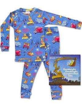 Clothing Goodnight Construction Site Pajamas