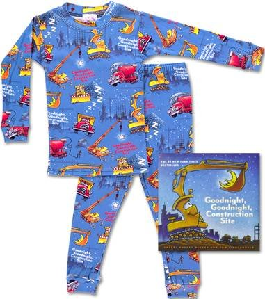 Clothing Goodnight Construction Site Pajamas