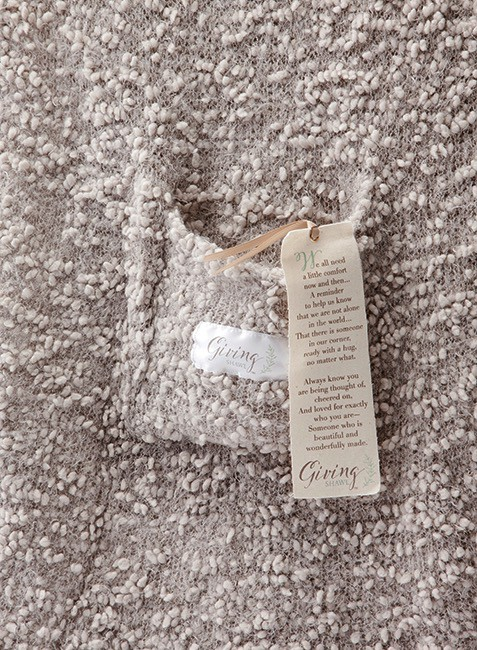 The Giving Shawl - Taupe